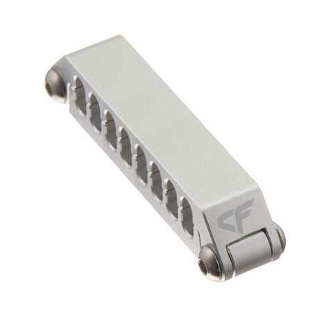 Nanoxia Aluminum Cable Clip for 16 Strands Cables (2x8 pin PCI-E)