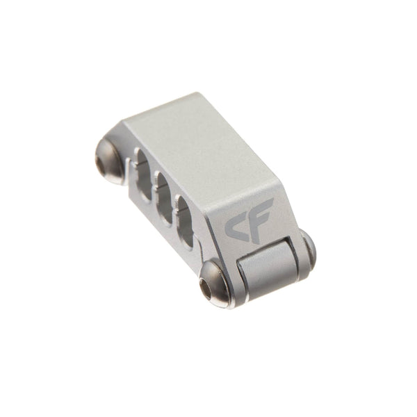 Cable Clip - Nanoxia Aluminum Cable Clip For 6 Strands Cables (6 Pin PCI-E)