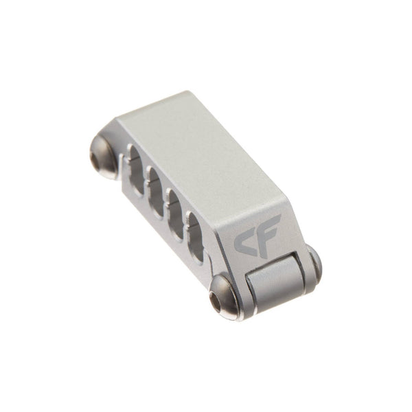 Cable Clip - Nanoxia Aluminum Cable Clip For 8 Strands Cables (8 Pin PCI-E Or EPS)