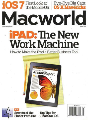 Macworld August 2013