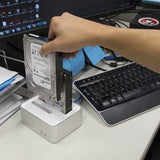 Drive Enclosures - USB 3.0 To SATA III Hard Drive Docking Station For 2.5-inch And 3.5-inch HDD And SSD Up To 4TB