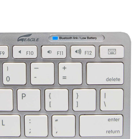 Portable Bluetooth Keyboard Slim Size