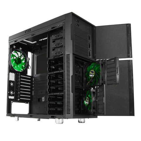 Nanoxia Deep Silence 1 ATX Mid Tower Case Black