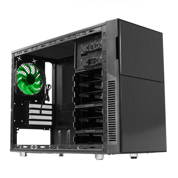 PC Cases - Nanoxia Deep Silence 4 Micro ATX Case