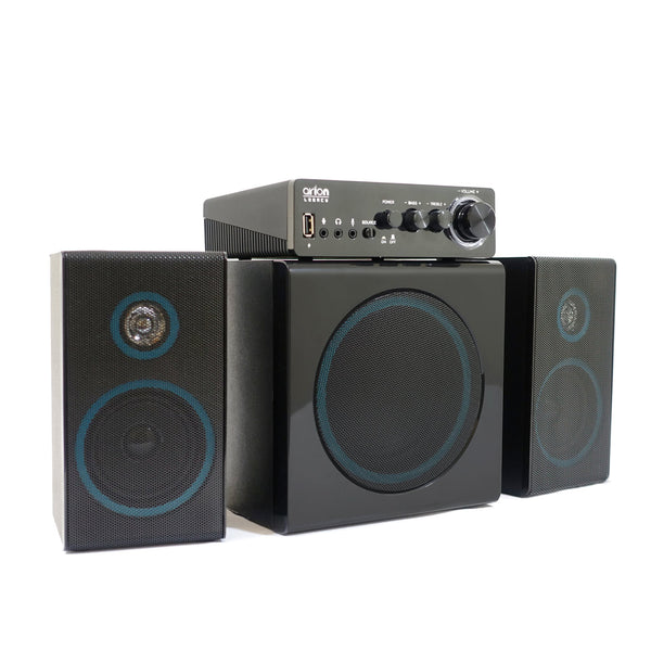 Speakers - Arion Legacy Deep Sonar 300 2.1 Speakers 72W