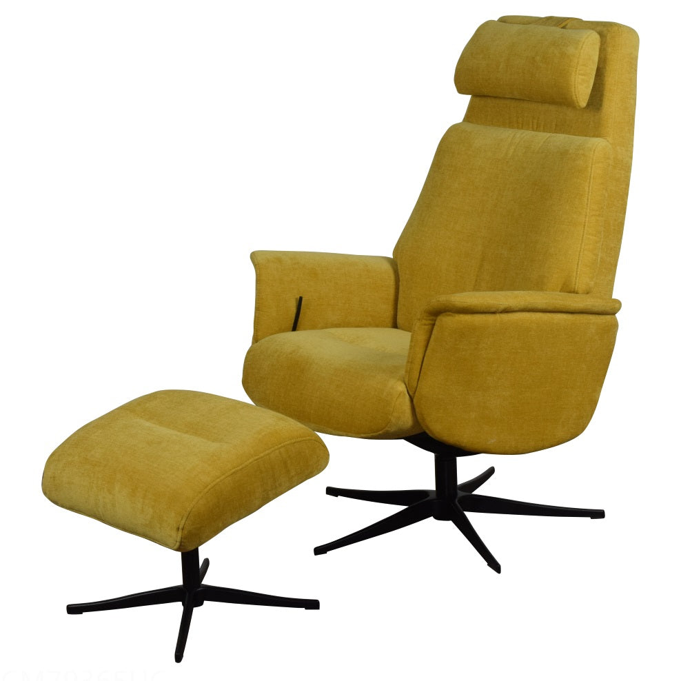 Yellow Aluminium Base / With Footstool / With Footstool