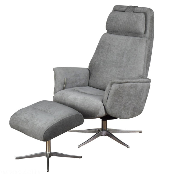 Albury Top Quality Luxury Fabric Recliner Chair