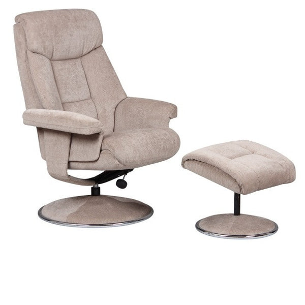 Biarritz Soft Fabric Recliner Chair