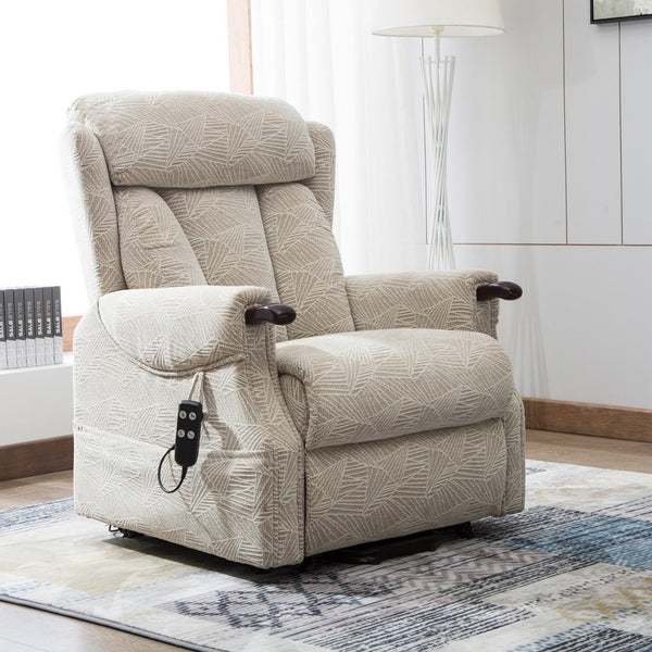 Denmark Dual Motor Electric Riser Recliner Chair