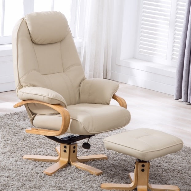 Pisa Luxury Swivel Recliner Chair