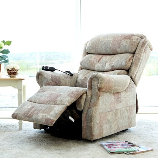 Lincoln Dual Motor Electric Riser Recliner Chair