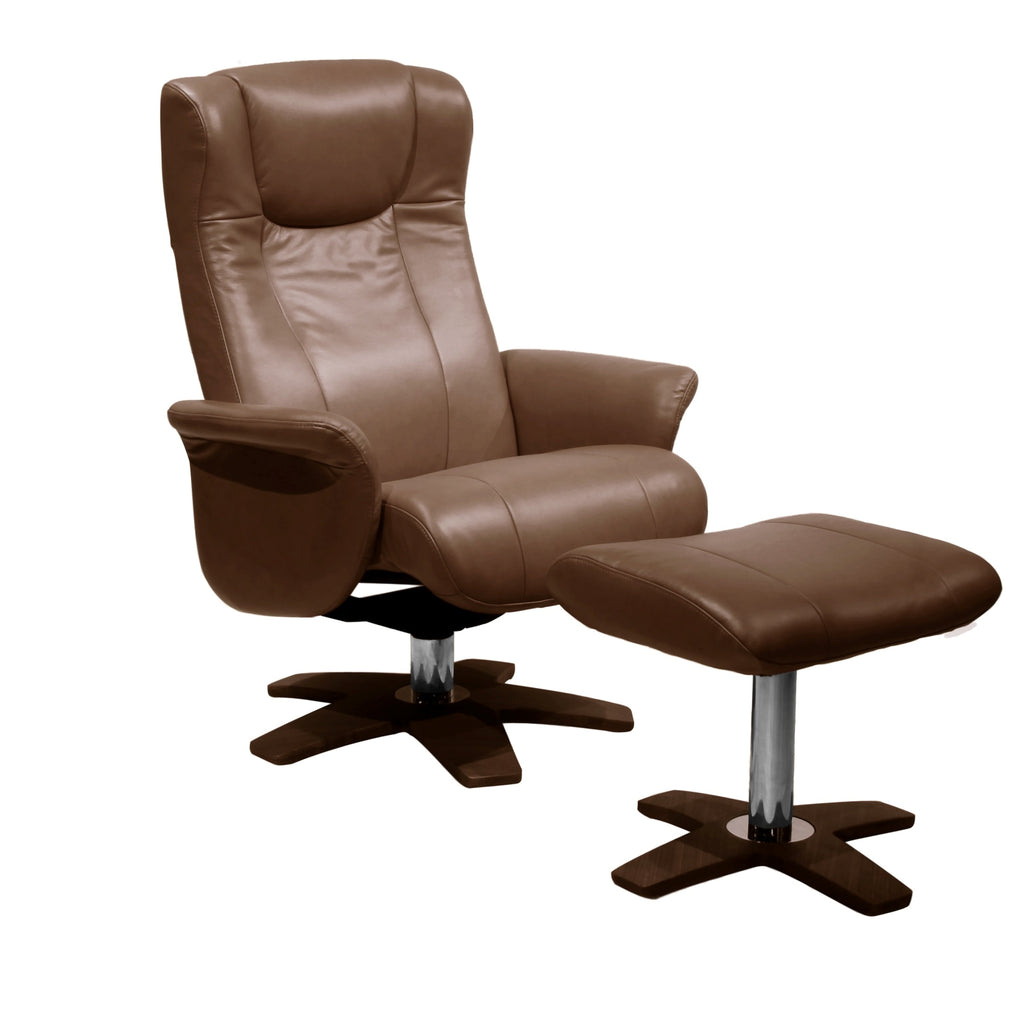 Mobi Top Of The Range  Quality Leather Recliner Chair
