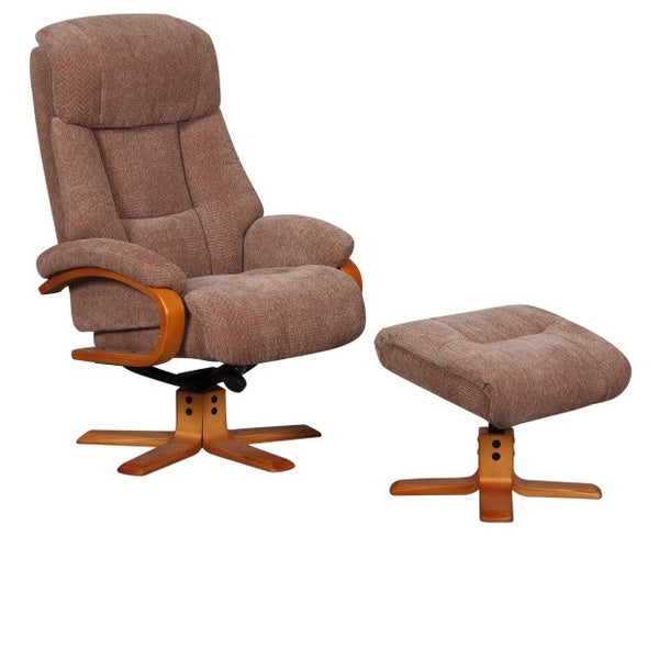 Nice Luxury Fabric Recliner Chair