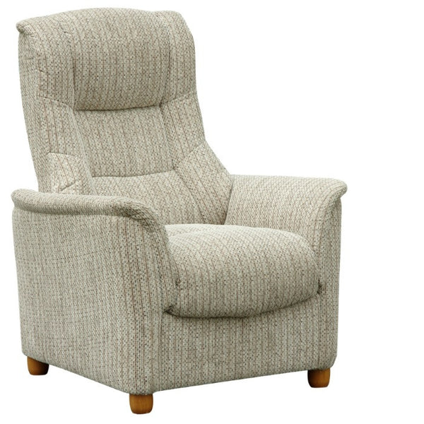 Shangri-La Fabric Fixed Chair PRICE REDUCED
