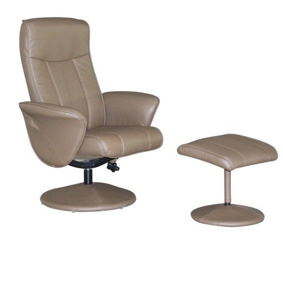 Siena Leather Match Recliner Chair