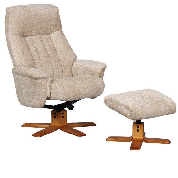 St Tropez Soft Fabric Recliner Chair