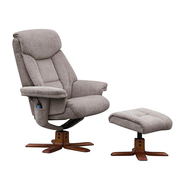Exmouth Fabric Recliner Massage Chair