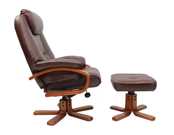 Macau Leather Recliner Chair
