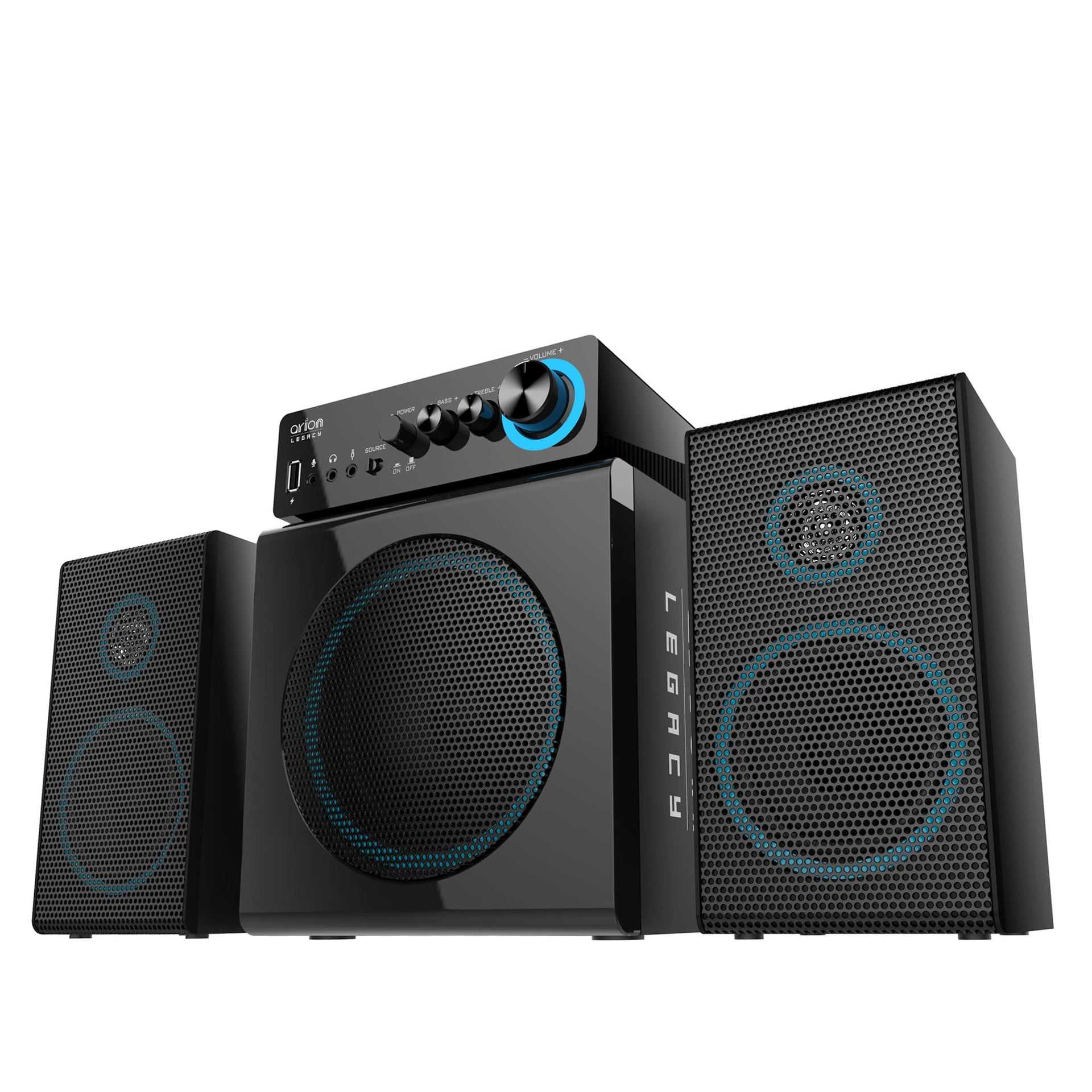 Arion Legacy Deep Sonar 300 2.1 Speakers 72W