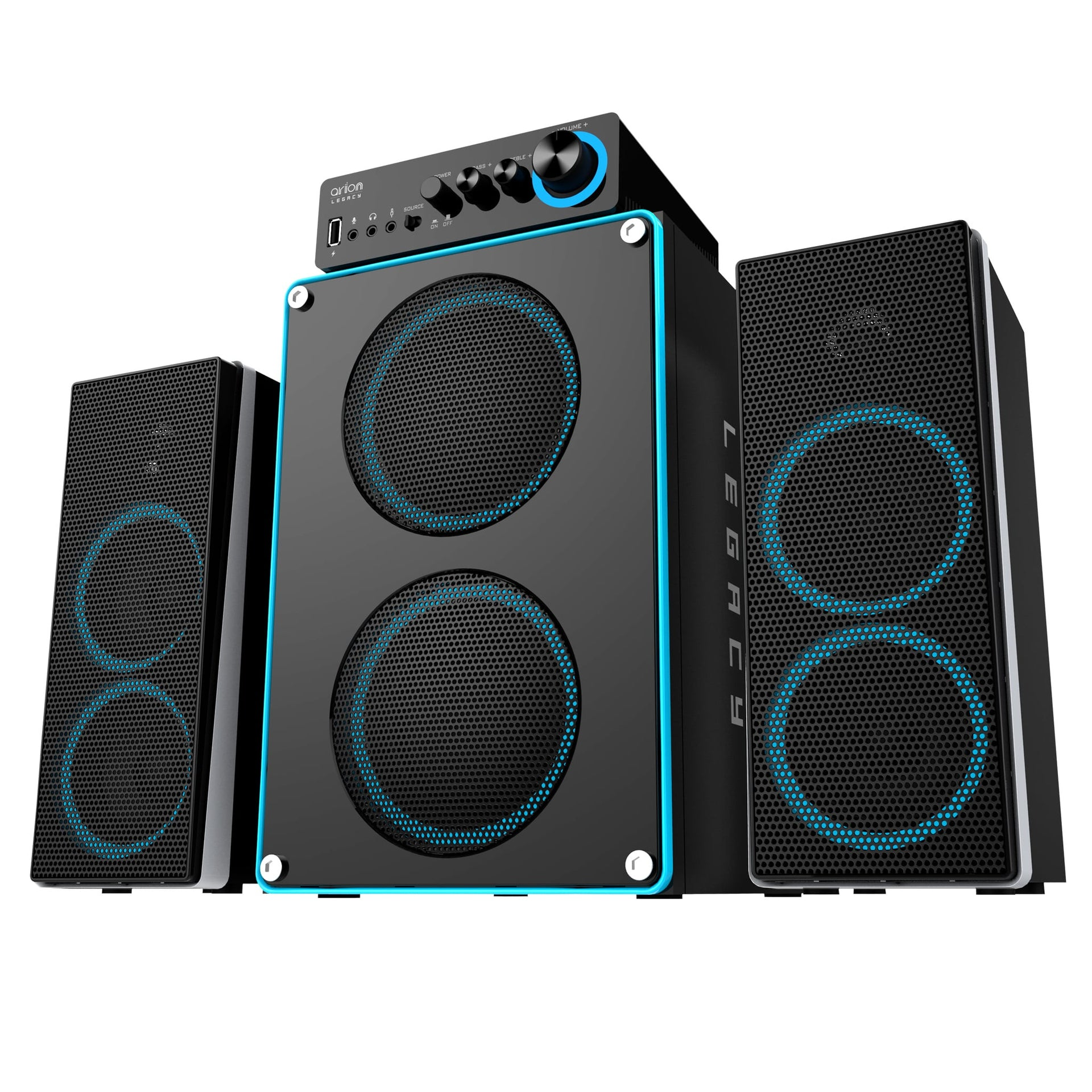 Arion Legacy Deep Sonar 550 2.1 Speakers 86W
