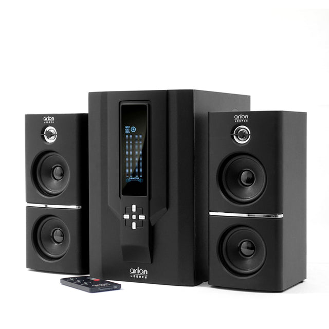 Speakers - Arion Legacy AR504 2.1 Speakers 70W