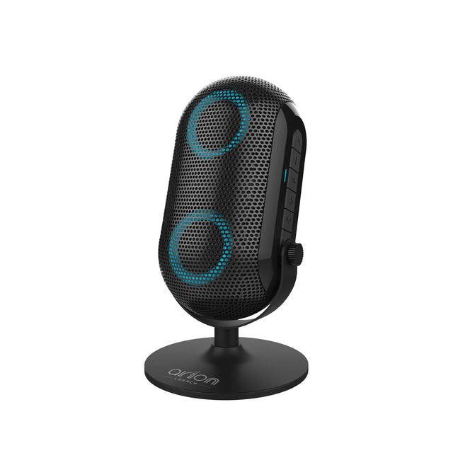 Speakers - Arion Legacy Deep Sonar 103 Portable Bluetooth Speaker With Dual HD Drivers & Microphone