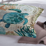 Ocean series Sea turtle / seahorse/ dolphins 3D Print Bedding Set Duvet cover Sets Octopus Bed Linen US AU UK - sexyheksie