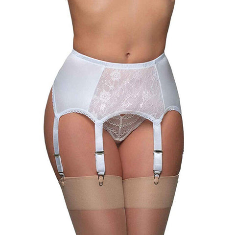 Sexy Vintage High Waist Lace Garter Belt Female Sexy Underwear Garter Stocking Suspender suspenders  6 belts