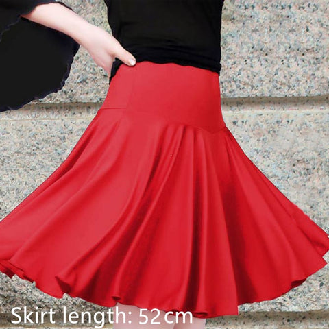 The new women's  dance Costumes Latin Dance Skirt Adult square dance skirt skirt  dancewear