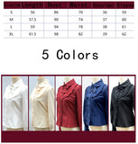 Winter Warm Fleece Blouse Lolita Shirt Women Elegant Fitted Top