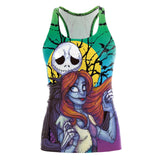 The Nightmare Before Christmas Tank Top  Gothic Style Halloween Sleeveless Vest - SexyHeksieLingerie