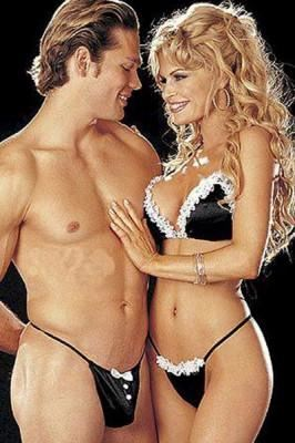 Black & White Couple's Cosplay Set H-LB6136 - SexyHeksieLingerie
