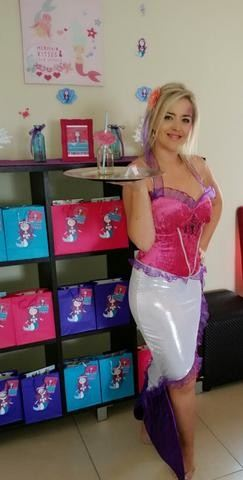 Purple Mermaid Costume-Another Satisfied Costumer