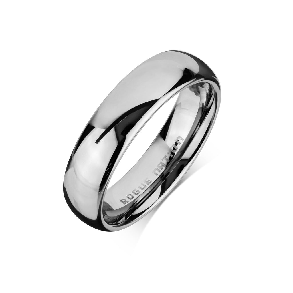 tone view s p two with comfort fit titanium wedding ring brushed rings men mens quick finish