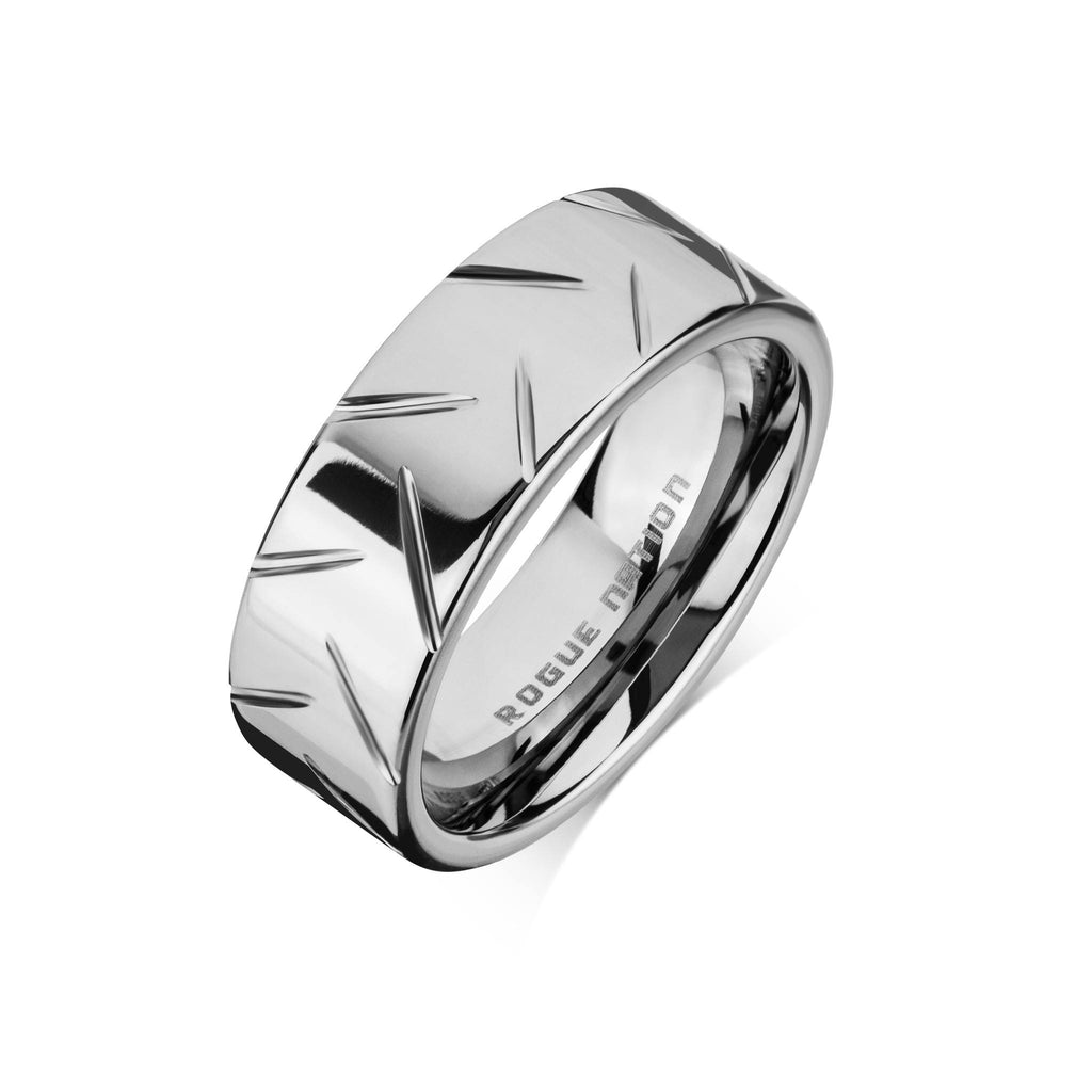 john men flat platinum court greed shaped rings wedding zoom mens ring