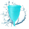 Large Blue Blossom Menstrual Cup; Love it or your Money Back