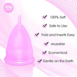 Why choose Blossom menstrual cup