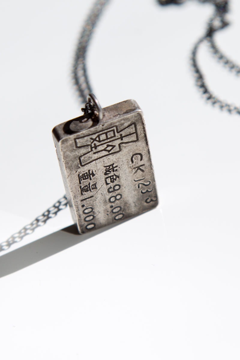 The Emperor Silver 925 Pendant On Silver Chain