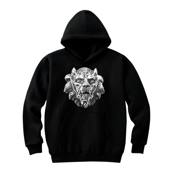MAYL Wear - Hoodie, The Lion - Black