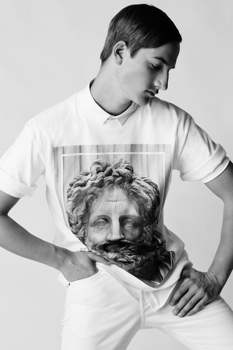 Apotheosis II - T-shirt, Portrait of Zeus