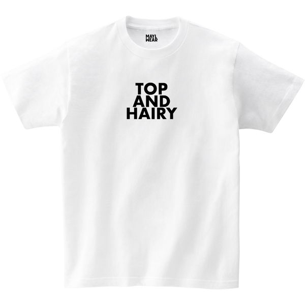 MAYL Wear - T-shirt, Top And Hairy - White