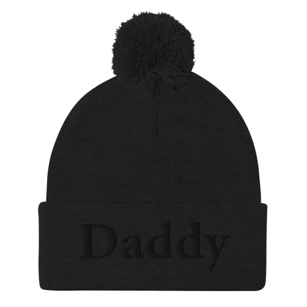 The Original Daddy - Pom-Pom Beanie - Embroidered