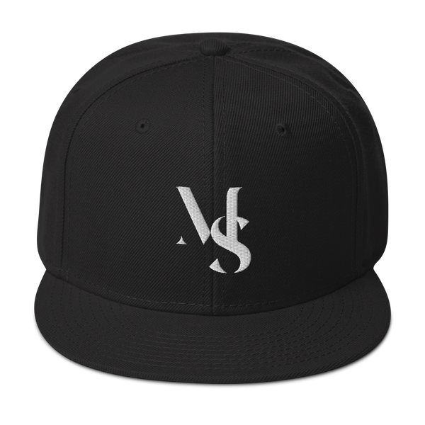 Snapback Hat - Personalized Initials Letter - Embroidered