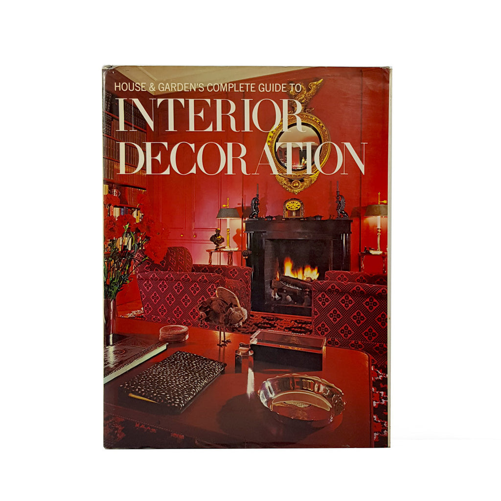 house & garden's complete guide to interior decoration – big ego books