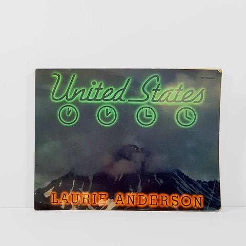 United States by Laurie Anderson