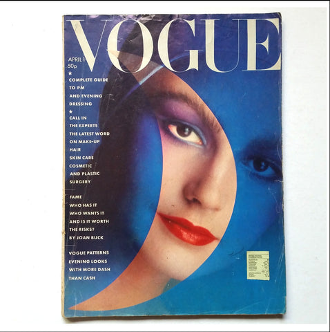 British Vogue: April 1st 1976