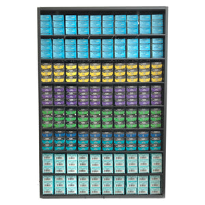 Rusk Hair Color Organizer Storage Display.