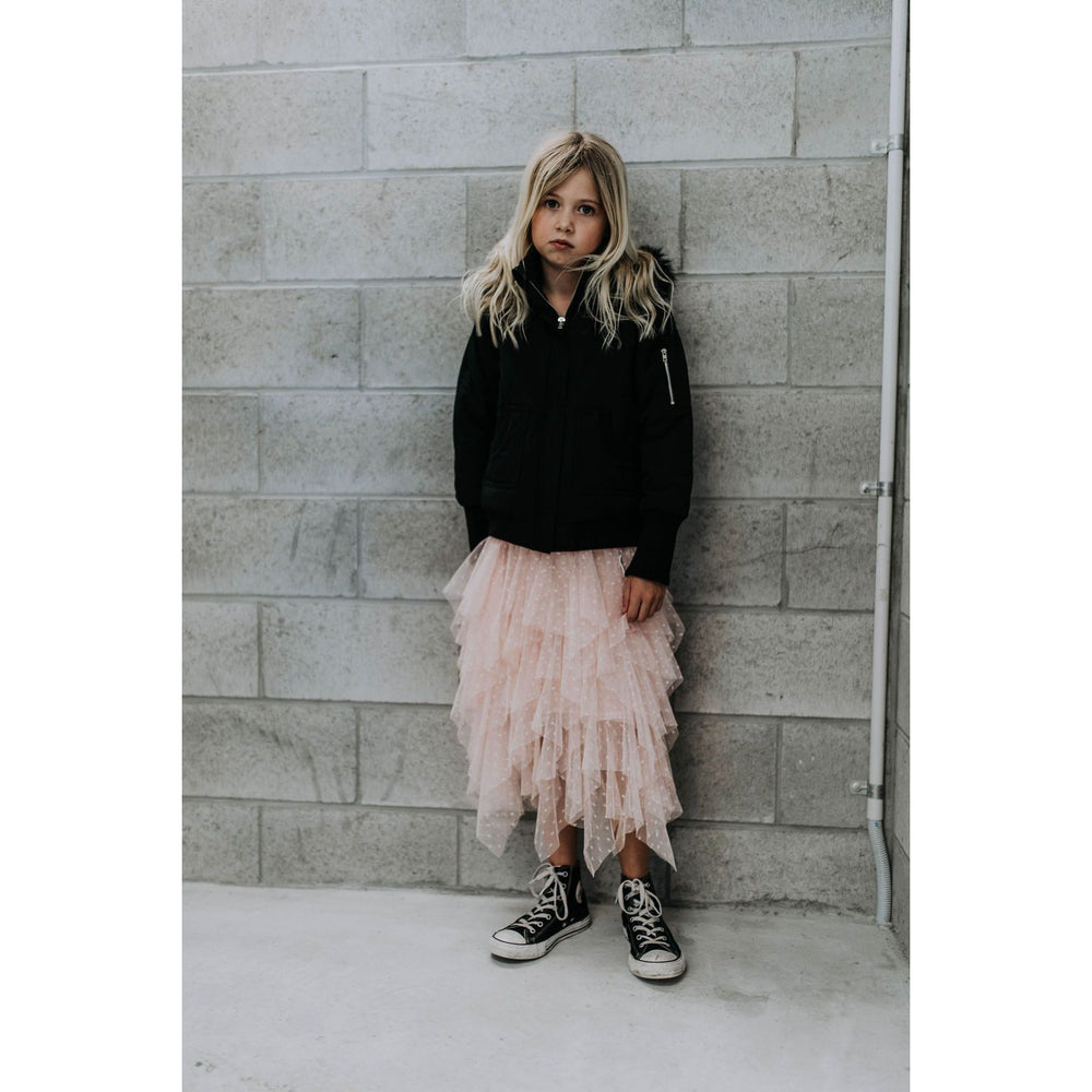 *PRESALE* Duke of London | Layered Tulle Skirt - Blush