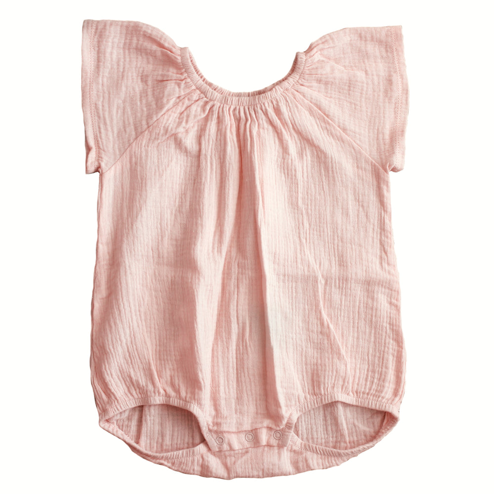 Duke of London | Baby Wing Onesie - Peachy