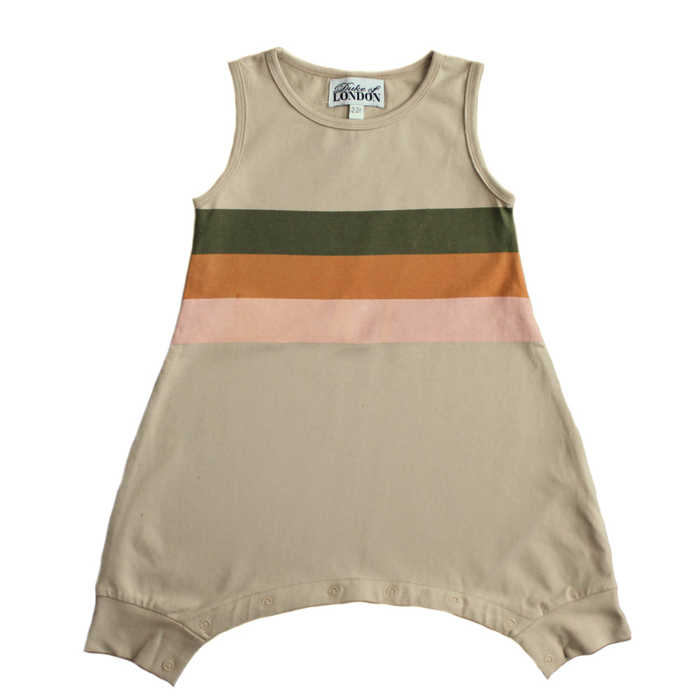 Duke of London | Retro Romper - Rainbow